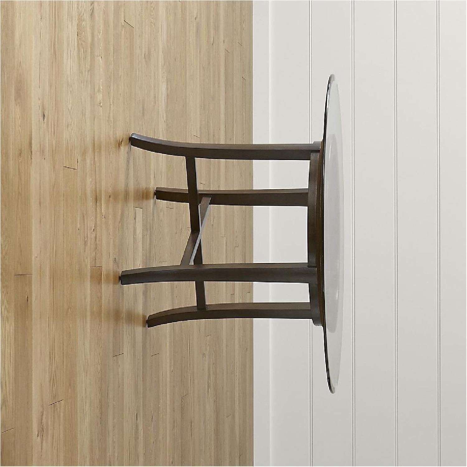 Crate & Barrel Glass Halo Dining Table - image-3