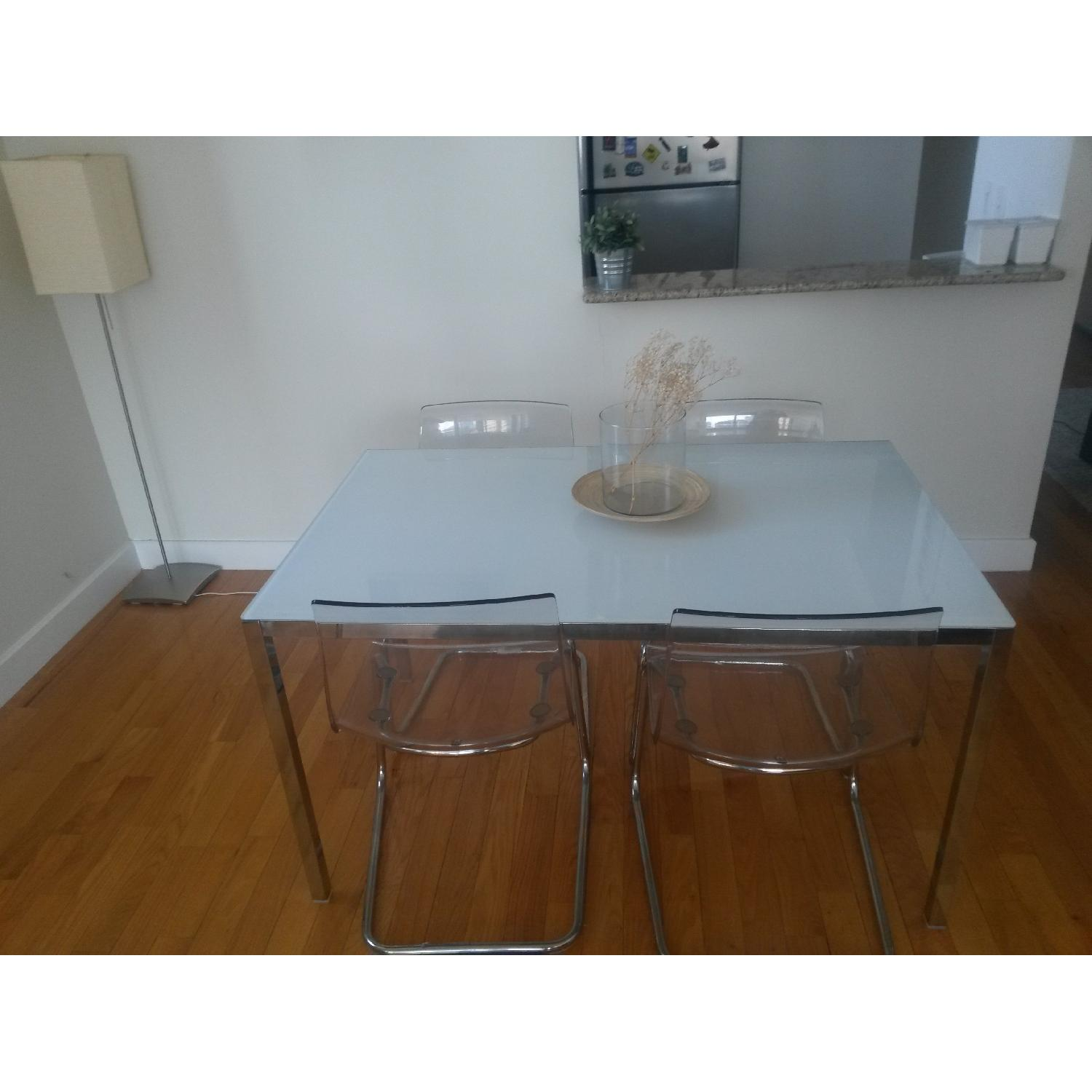 Ikea Torsby/Tobias Table w/ 4 Chairs - image-1