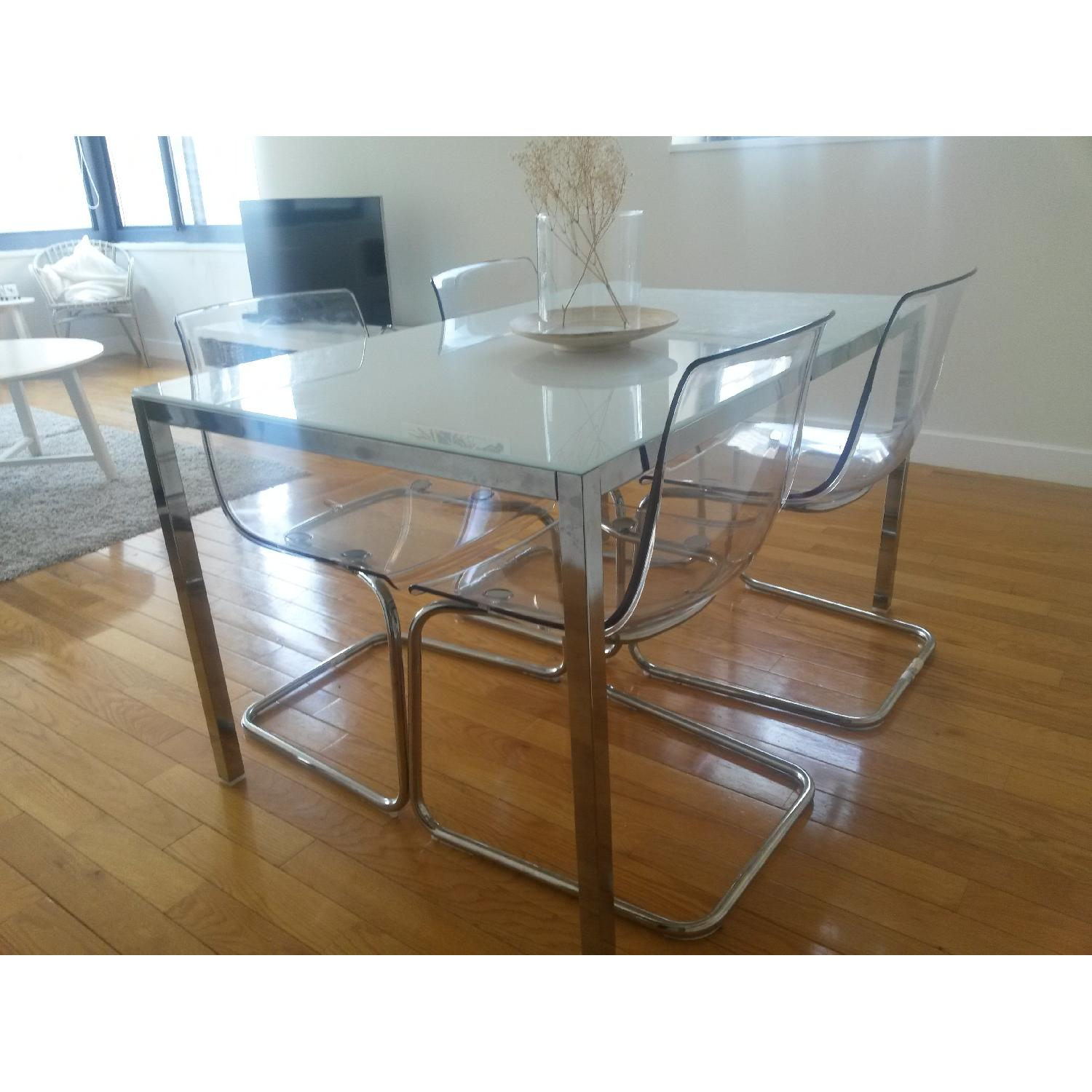 Ikea Torsby/Tobias Table w/ 4 Chairs - image-2