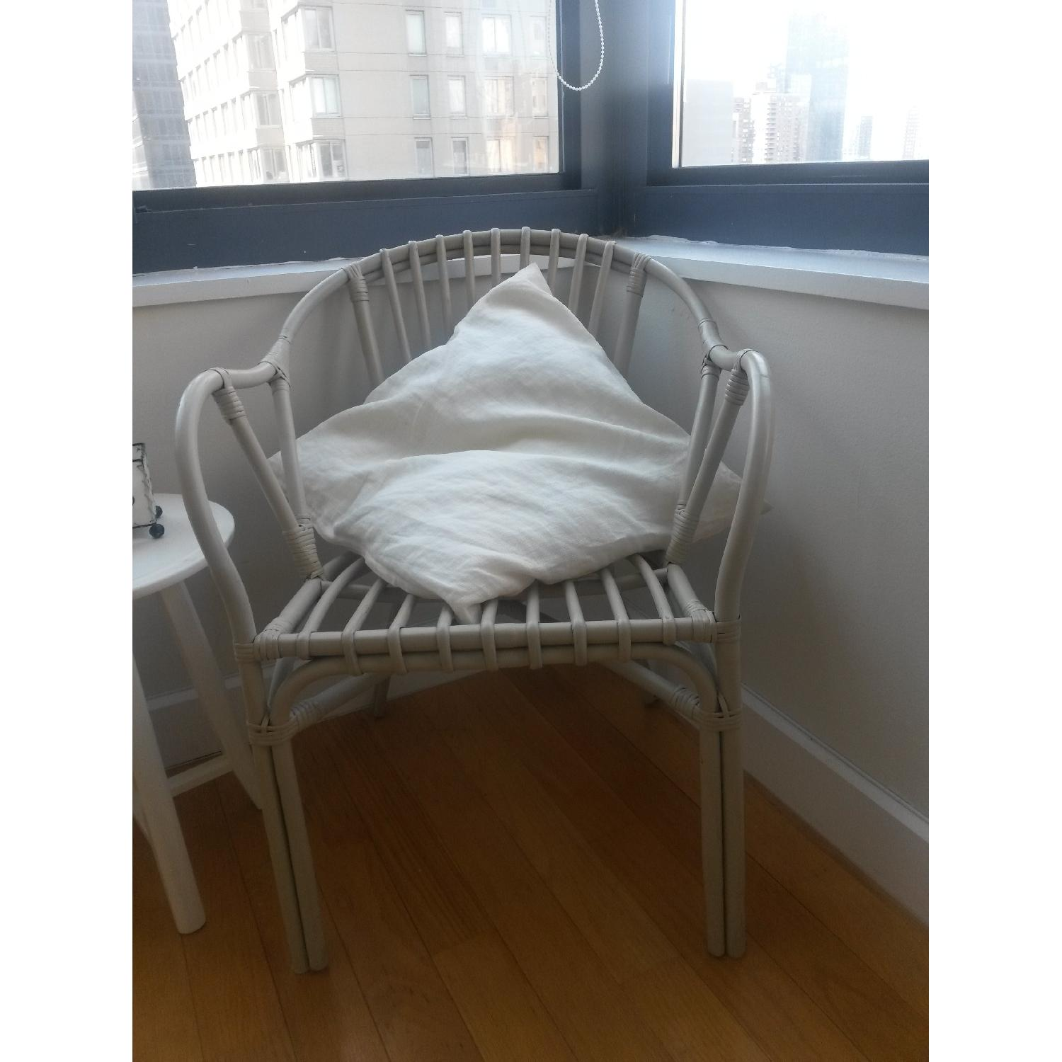 Ikea Holmsel Chairs in Natural - Pair - image-2