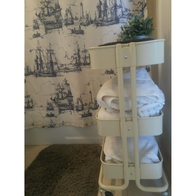 Ikea Kitchen/Bathroom Carts - Pair - image-1