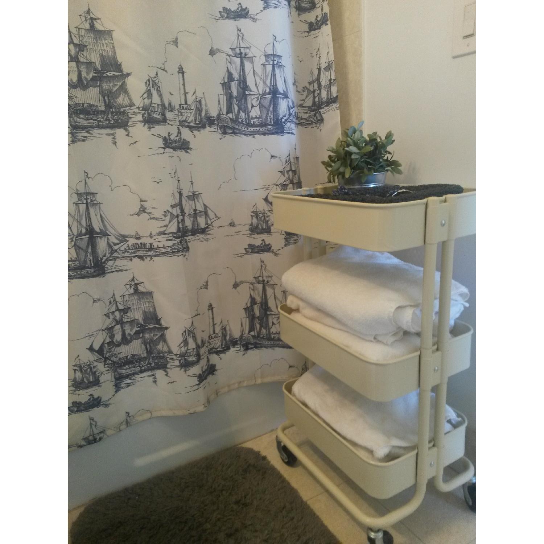 Ikea Kitchen/Bathroom Carts - Pair - image-2