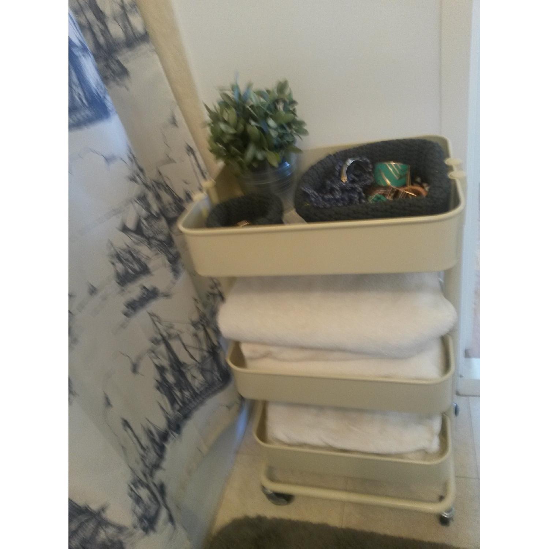 Ikea Kitchen/Bathroom Carts - Pair - image-3