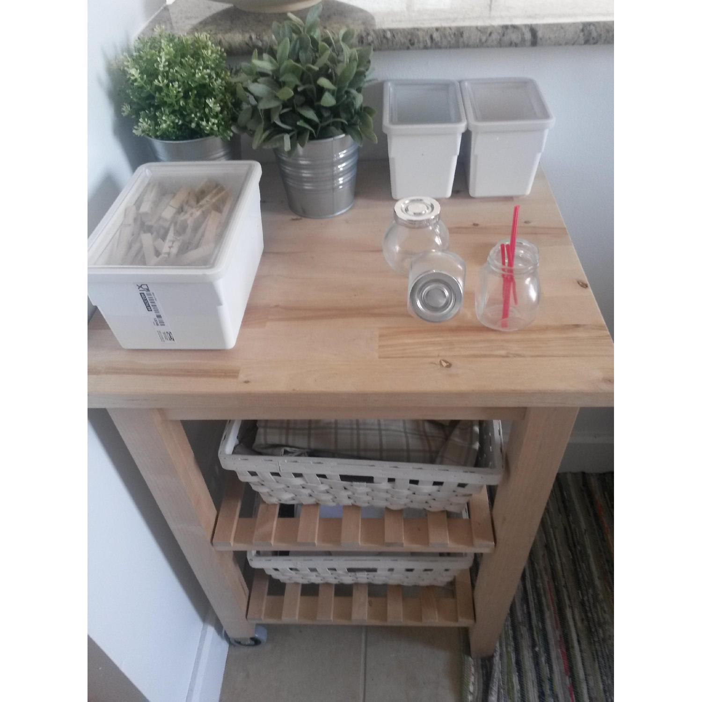 Ikea Kitchen/Bathroom Carts - Pair