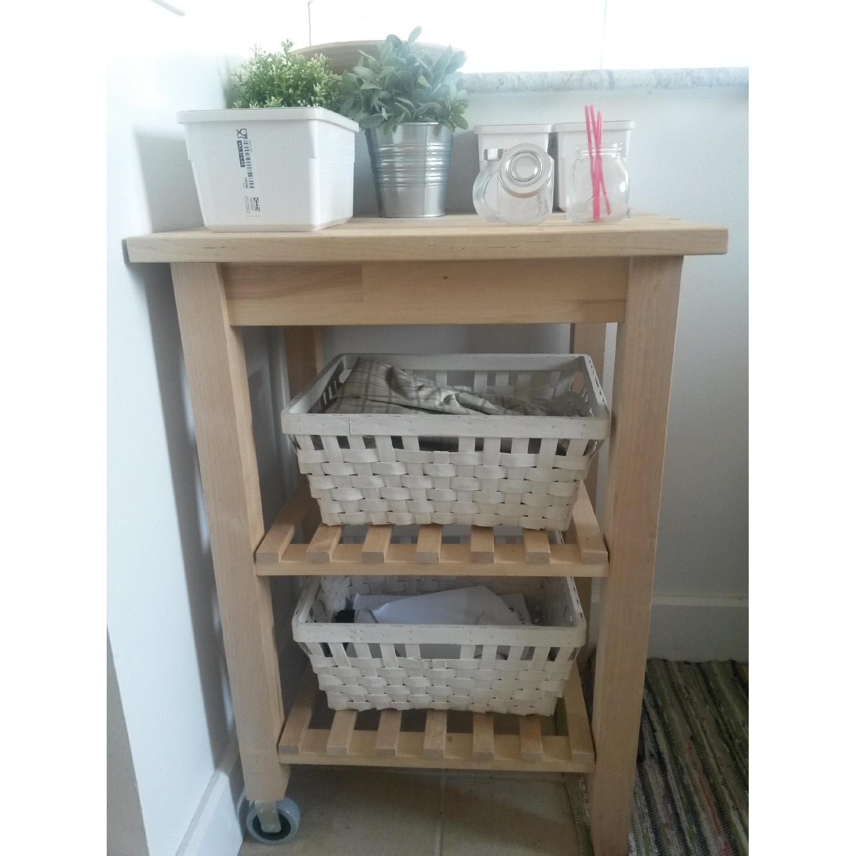 Ikea Kitchen/Bathroom Carts - Pair - image-7