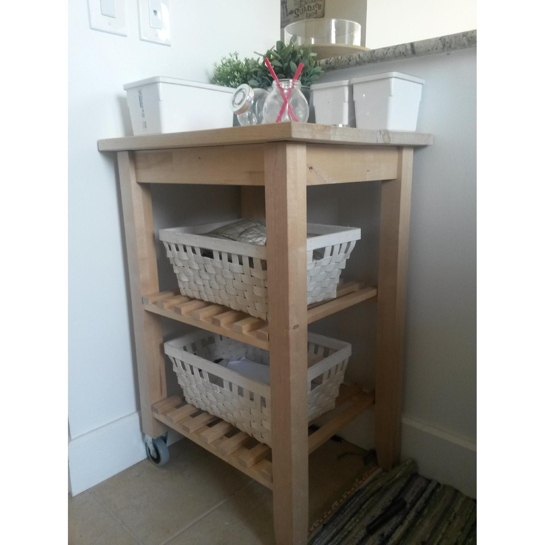 Ikea Kitchen/Bathroom Carts - Pair - image-8