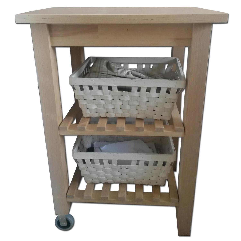 Ikea Kitchen/Bathroom Carts - Pair - image-0