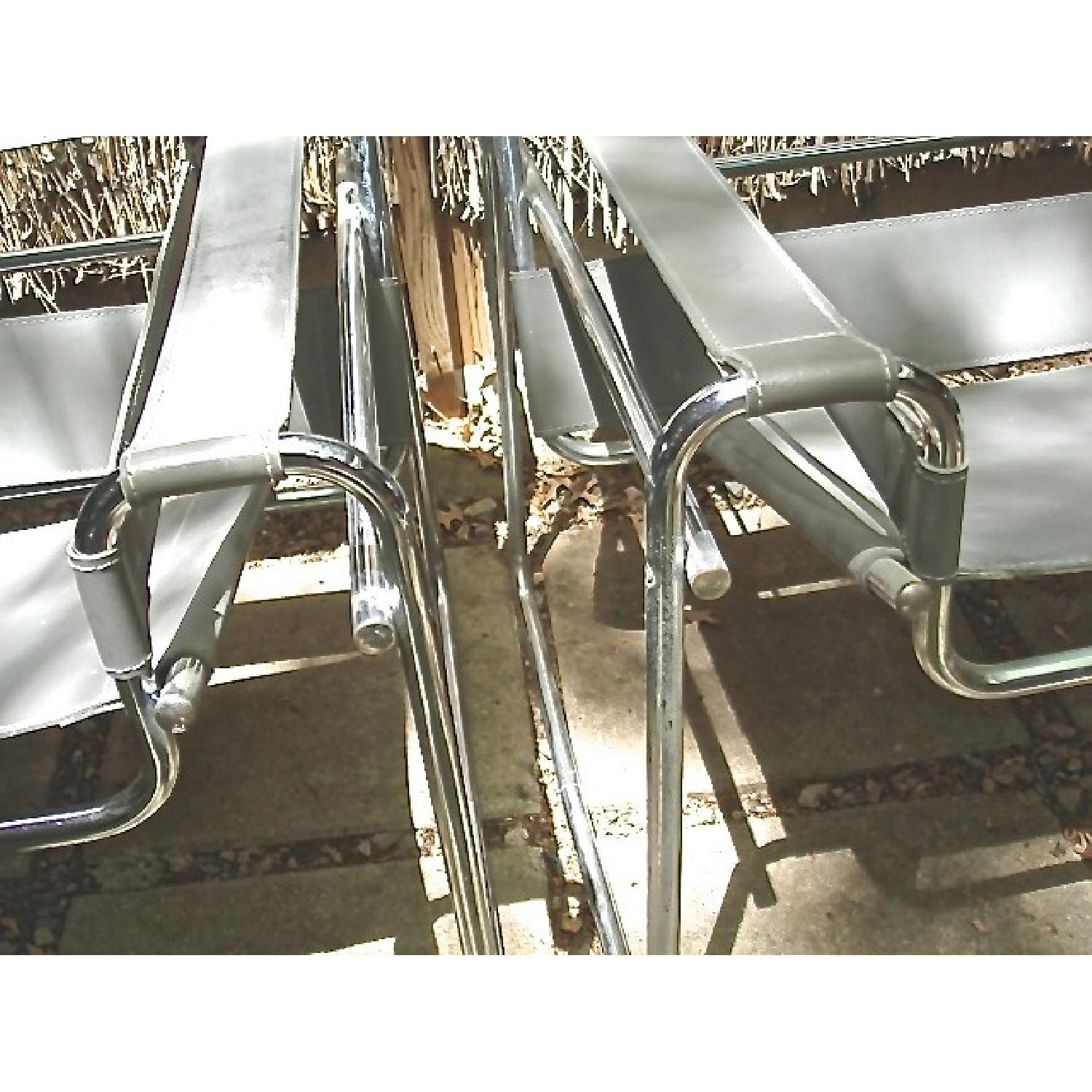 Marcel Breuer Wassily Chairs - Pair - image-7