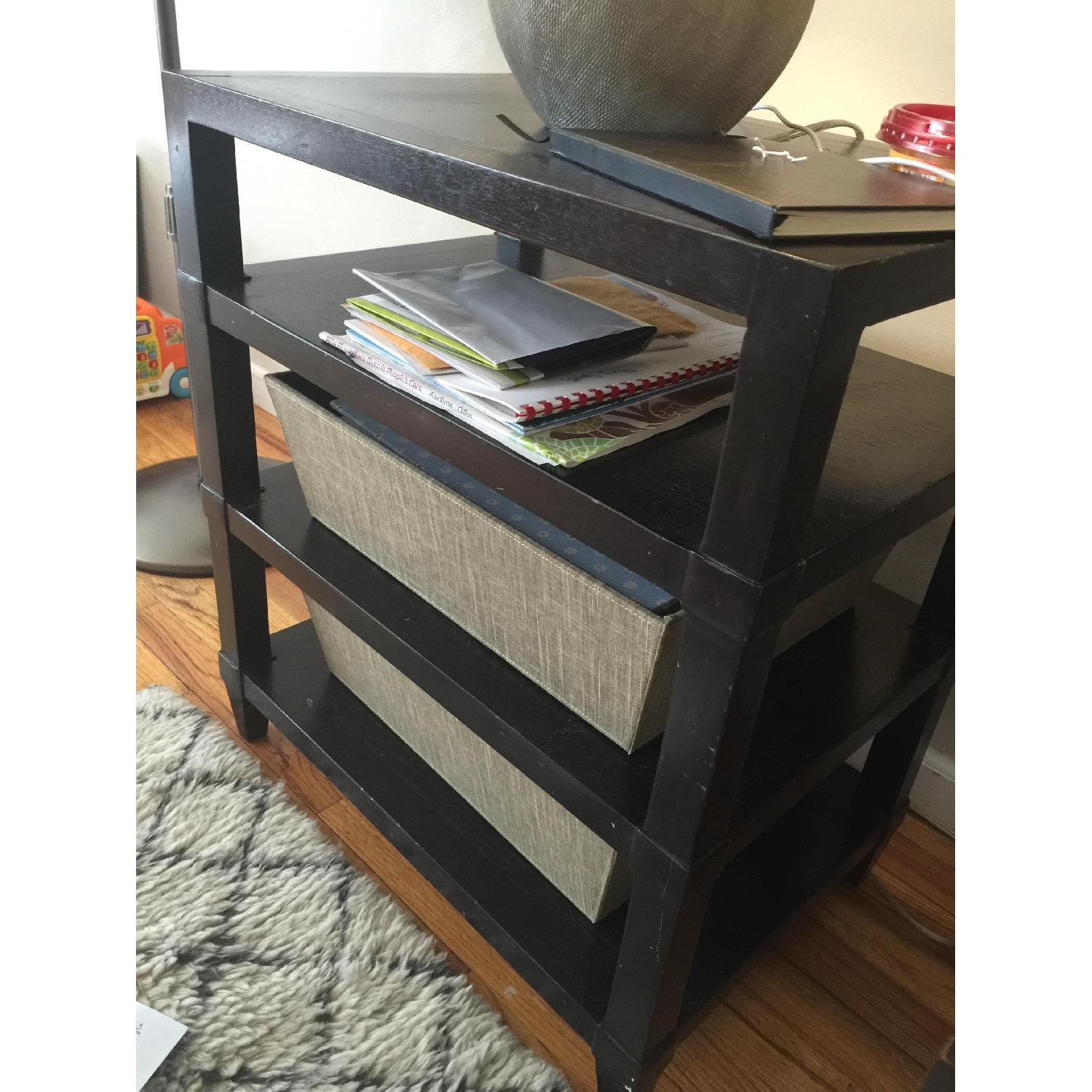Crate & Barrel Side Table - image-2