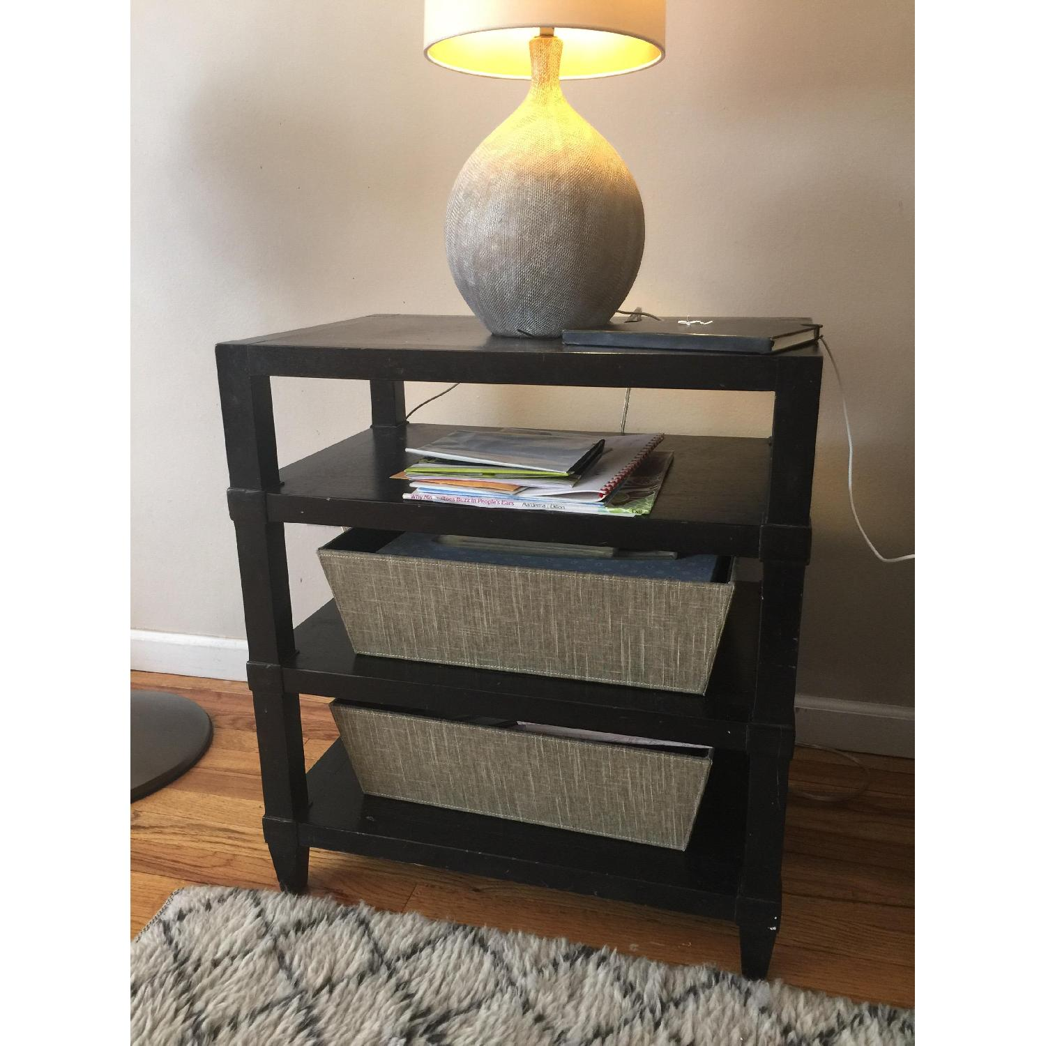 Crate & Barrel Side Table - image-3