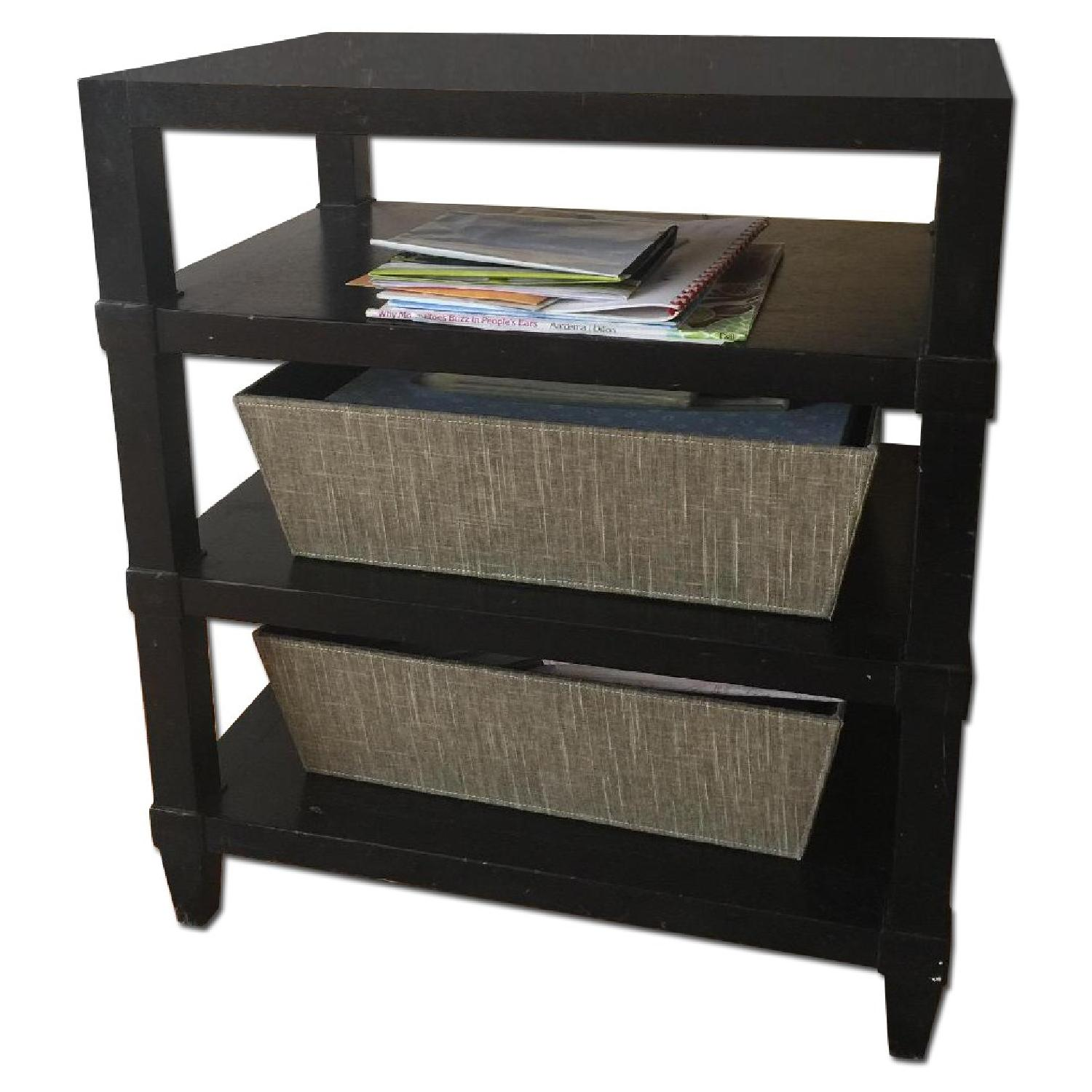 Crate & Barrel Side Table - image-0