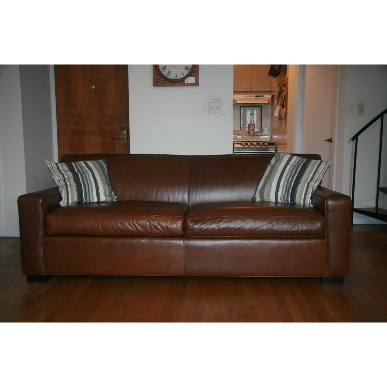 Mitchell Gold + Bob Williams Claude Leather Sofa - image-2