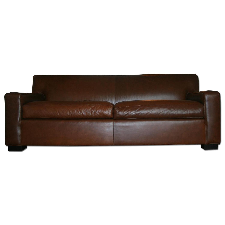 Mitchell Gold + Bob Williams Claude Leather Sofa - image-0