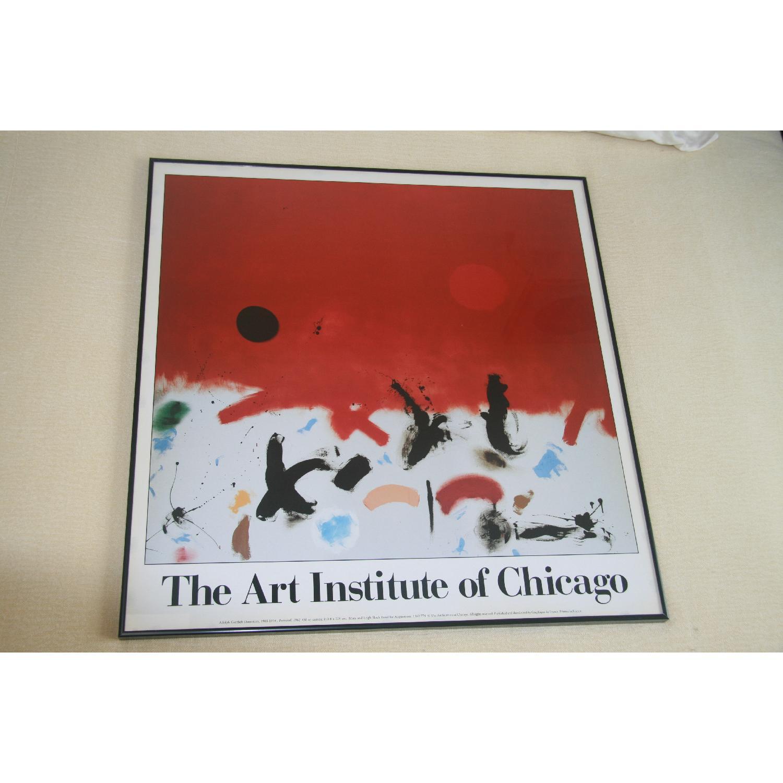 Art Insitute of Chicago Vintage Framed Poster - image-2