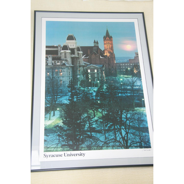 Syracuse University Framed Poster Art - image-1