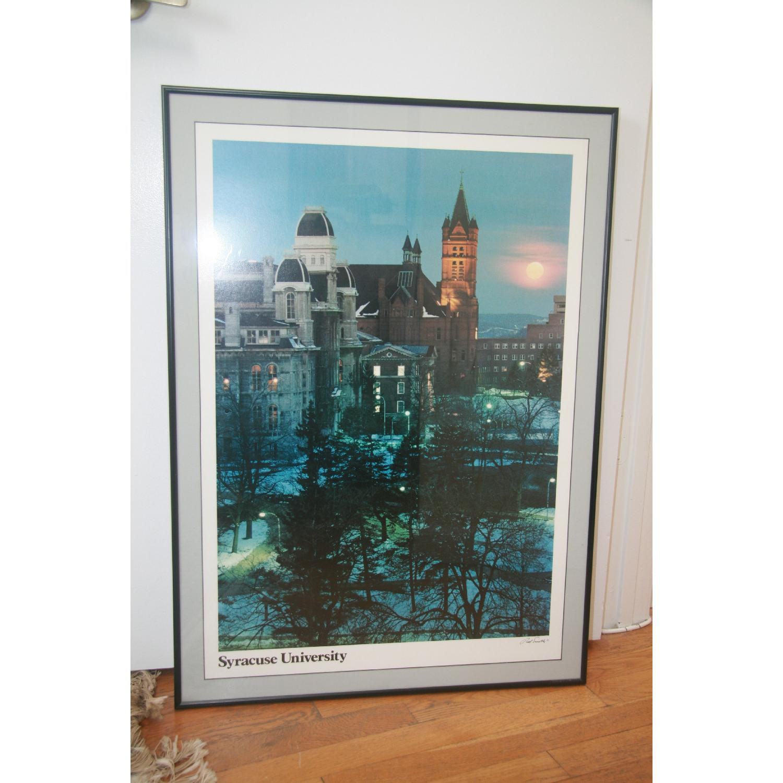 Syracuse University Framed Poster Art - image-2