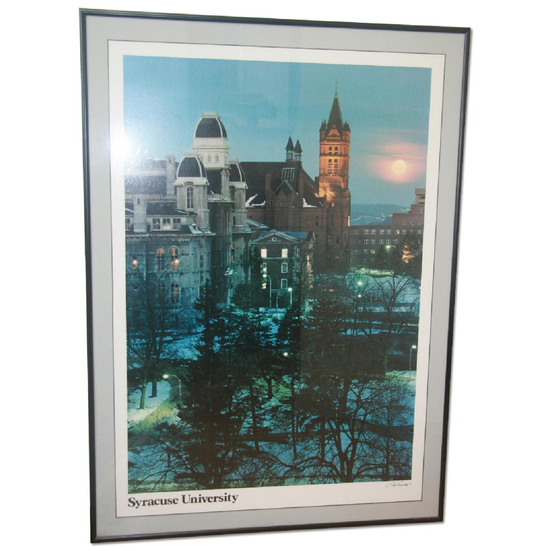 Syracuse University Framed Poster Art - image-0