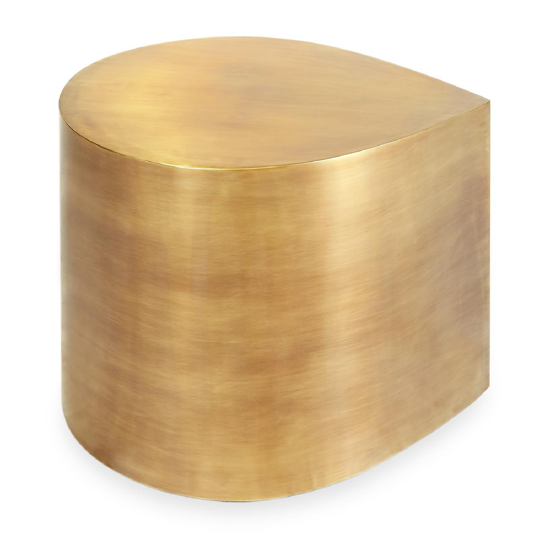 Jonathan Adler Brass Teardrop Tables - image-1