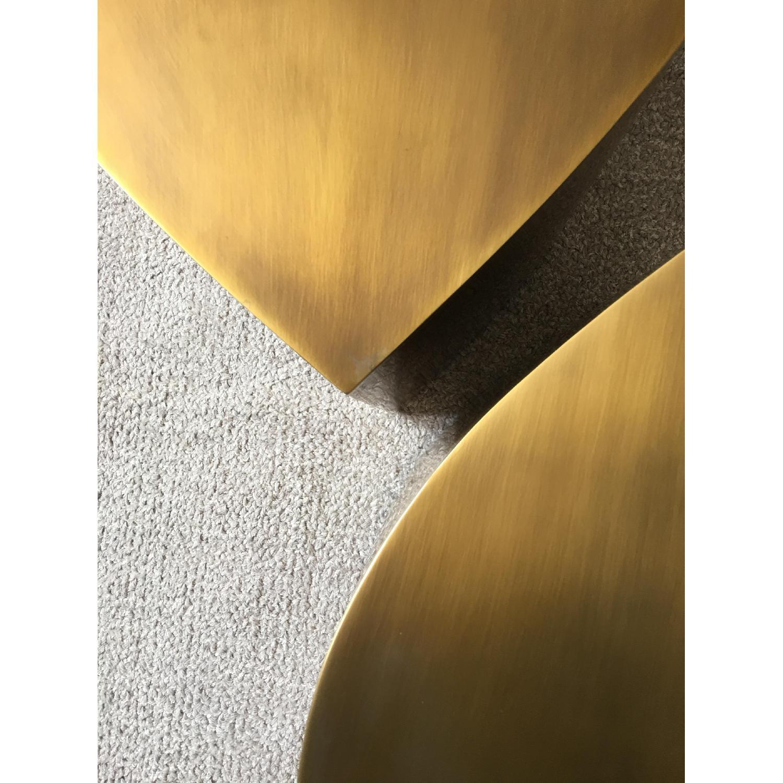Jonathan Adler Brass Teardrop Tables - image-4