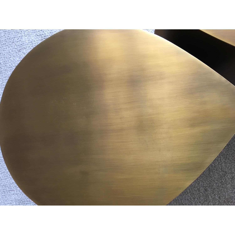 Jonathan Adler Brass Teardrop Tables - image-5