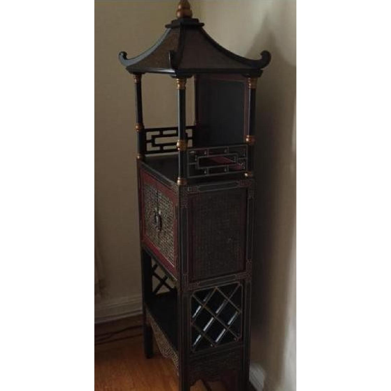 Bloomingdale's Pagoda Storage Chest - image-1