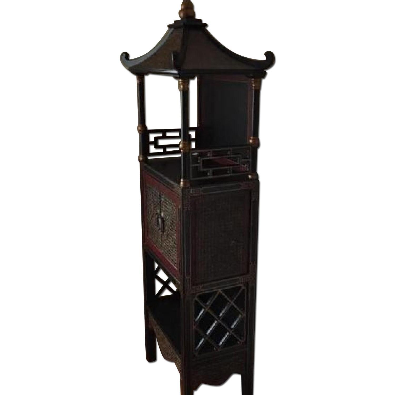 Bloomingdale's Pagoda Storage Chest - image-0