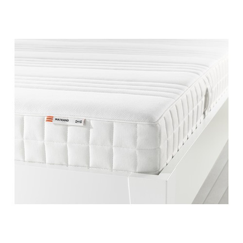 Ikea Queen Size Bed w/ Storage & Storage Headboard - image-3