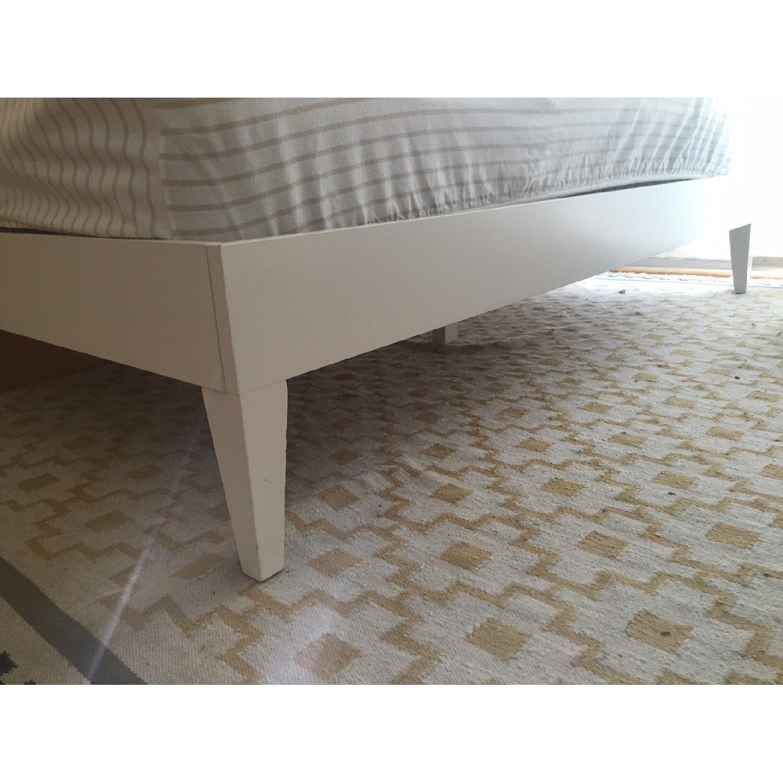 West Elm Narrow Leg King Size Bed - image-6