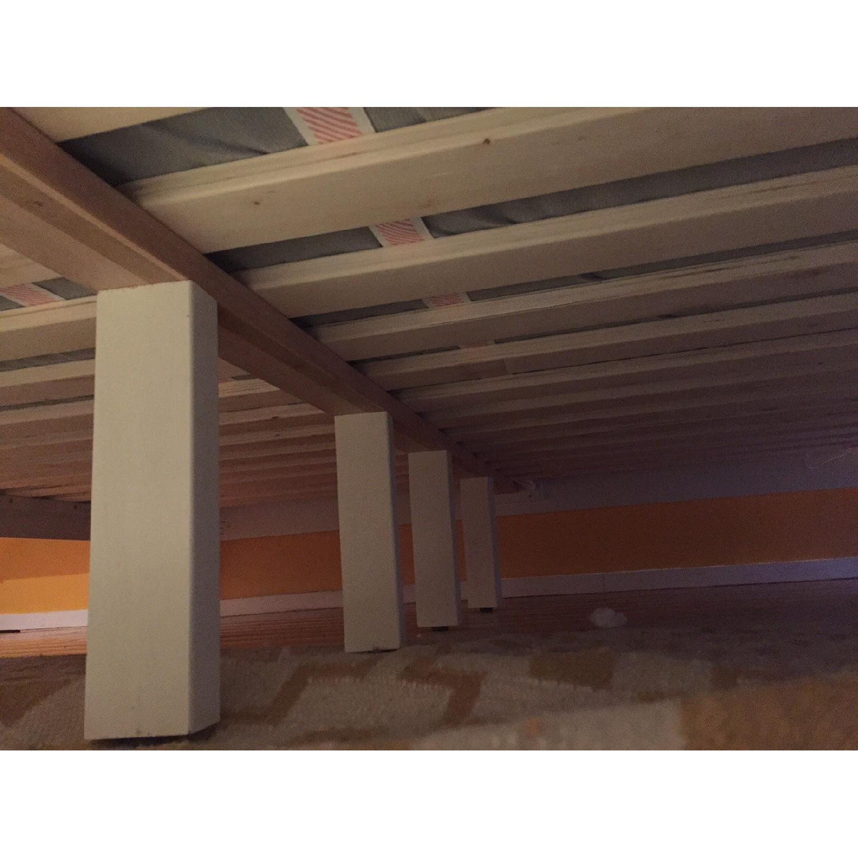 West Elm Narrow Leg King Size Bed - image-10
