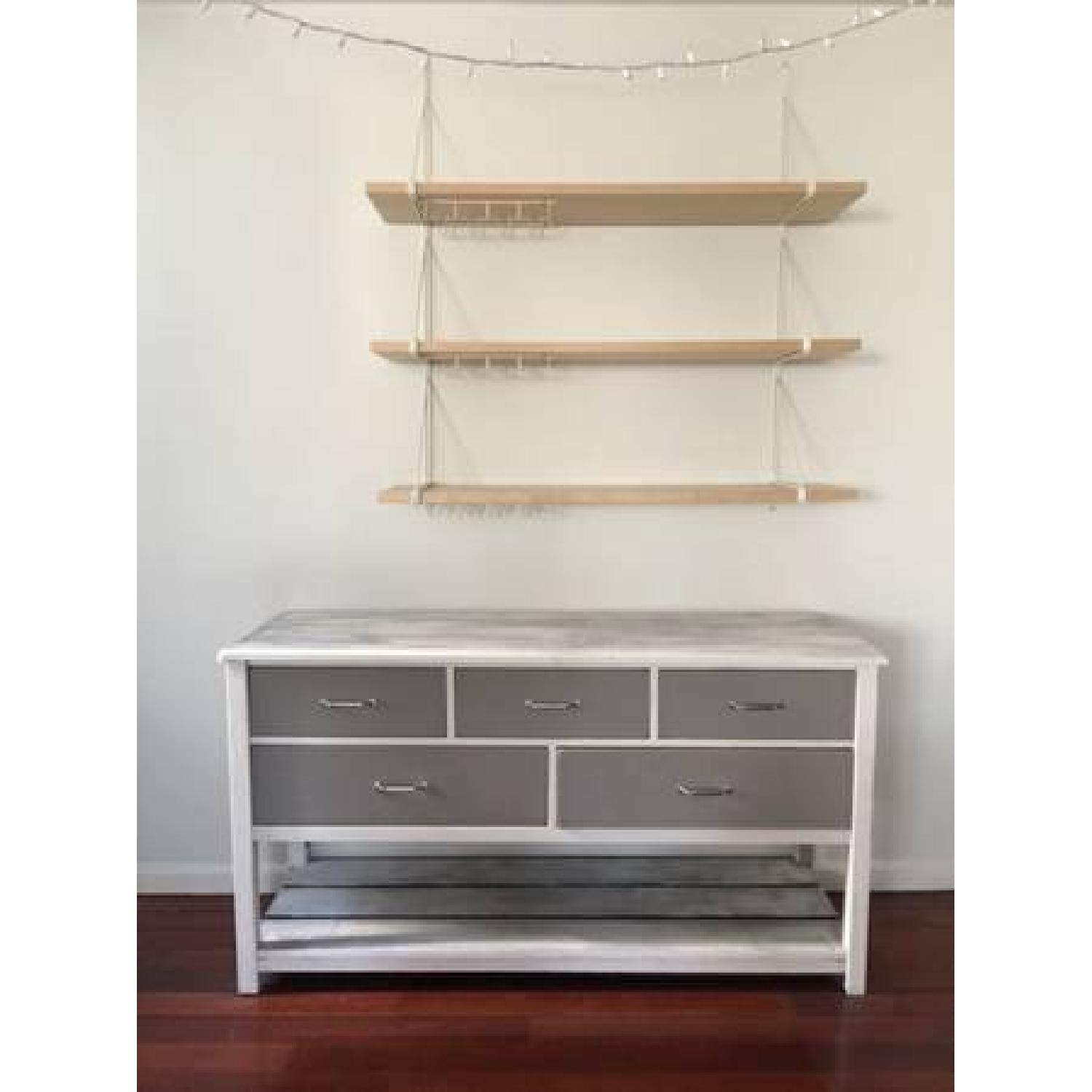 White & Gray Dining Room Sideboard - image-1