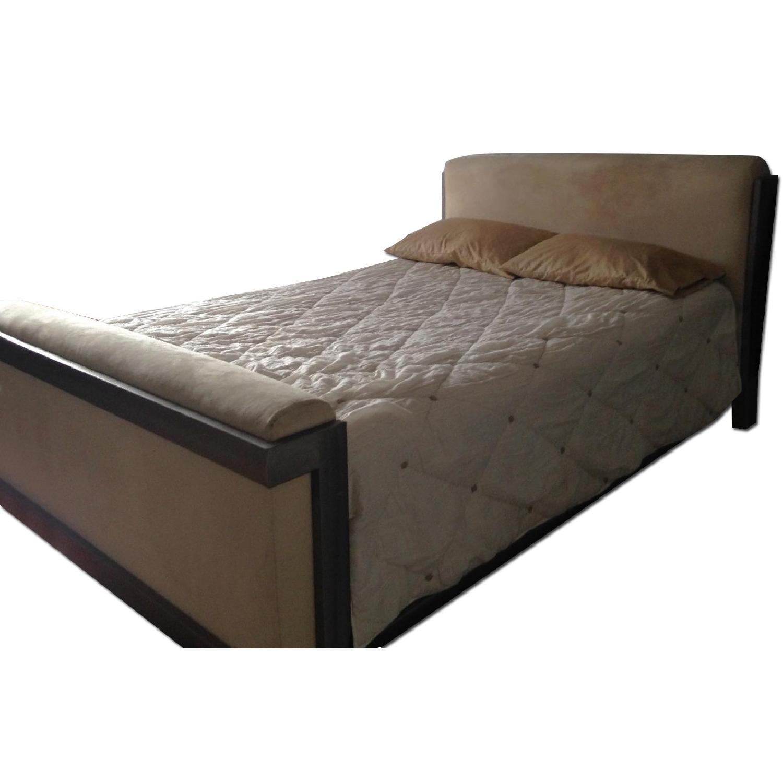 Basics Furniture Queen Size Bed Frame - image-0