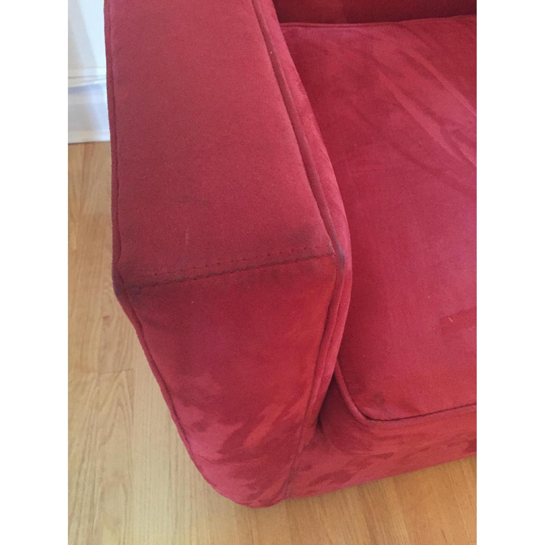 Crate & Barrel Streeter Swivel Chair - image-1