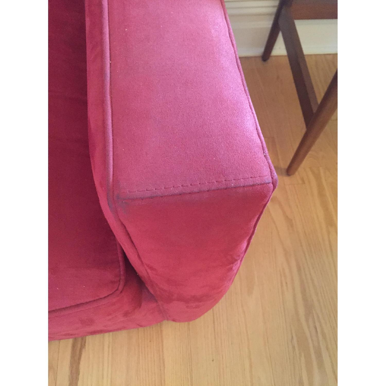 Crate & Barrel Streeter Swivel Chair - image-2