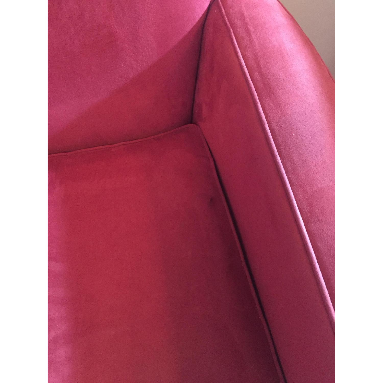 Crate & Barrel Streeter Swivel Chair - image-3