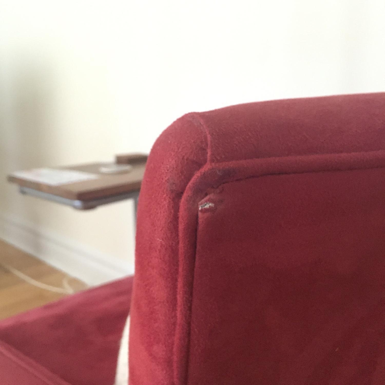 Crate & Barrel Streeter Swivel Chair - image-5
