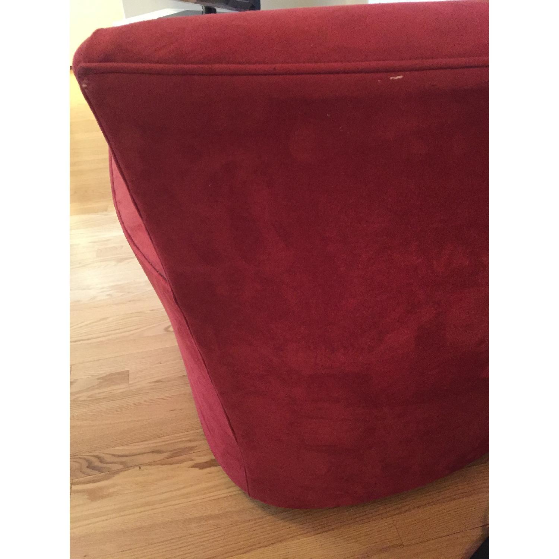 Crate & Barrel Streeter Swivel Chair - image-7