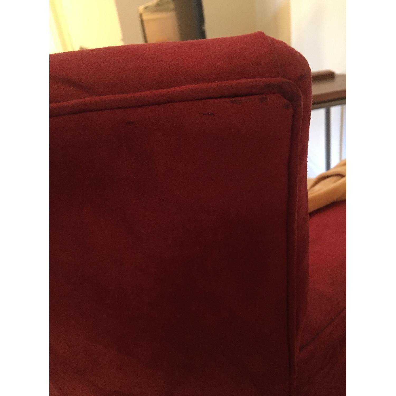 Crate & Barrel Streeter Swivel Chair - image-8