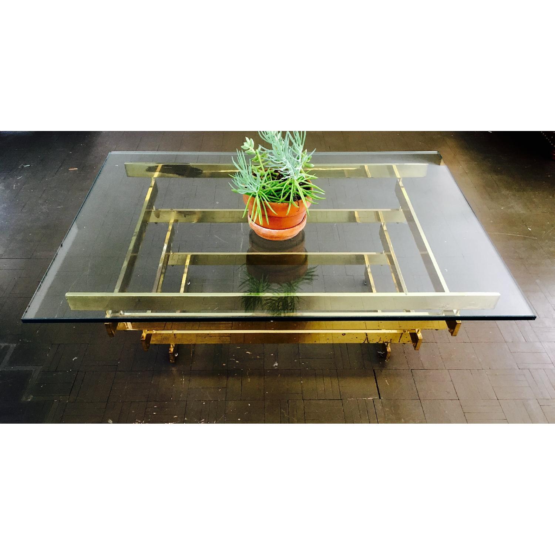 Paul Mayen Vintage Mod Brass Coffee Table - image-3
