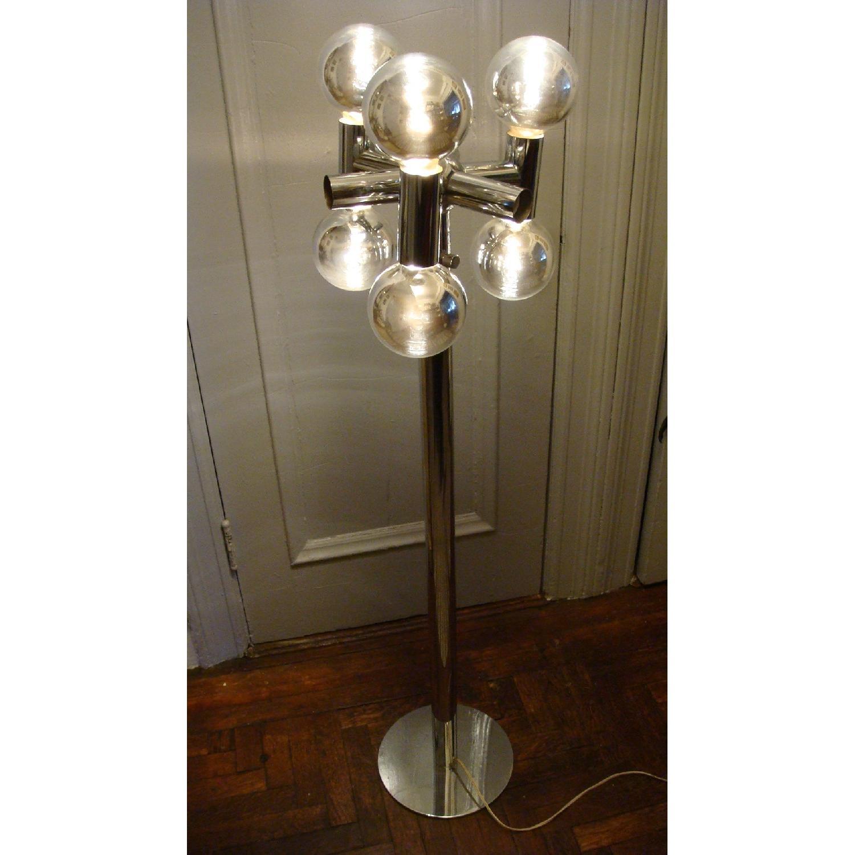 Robert Sonneman 1970's Chrome Floor Lamp - image-7