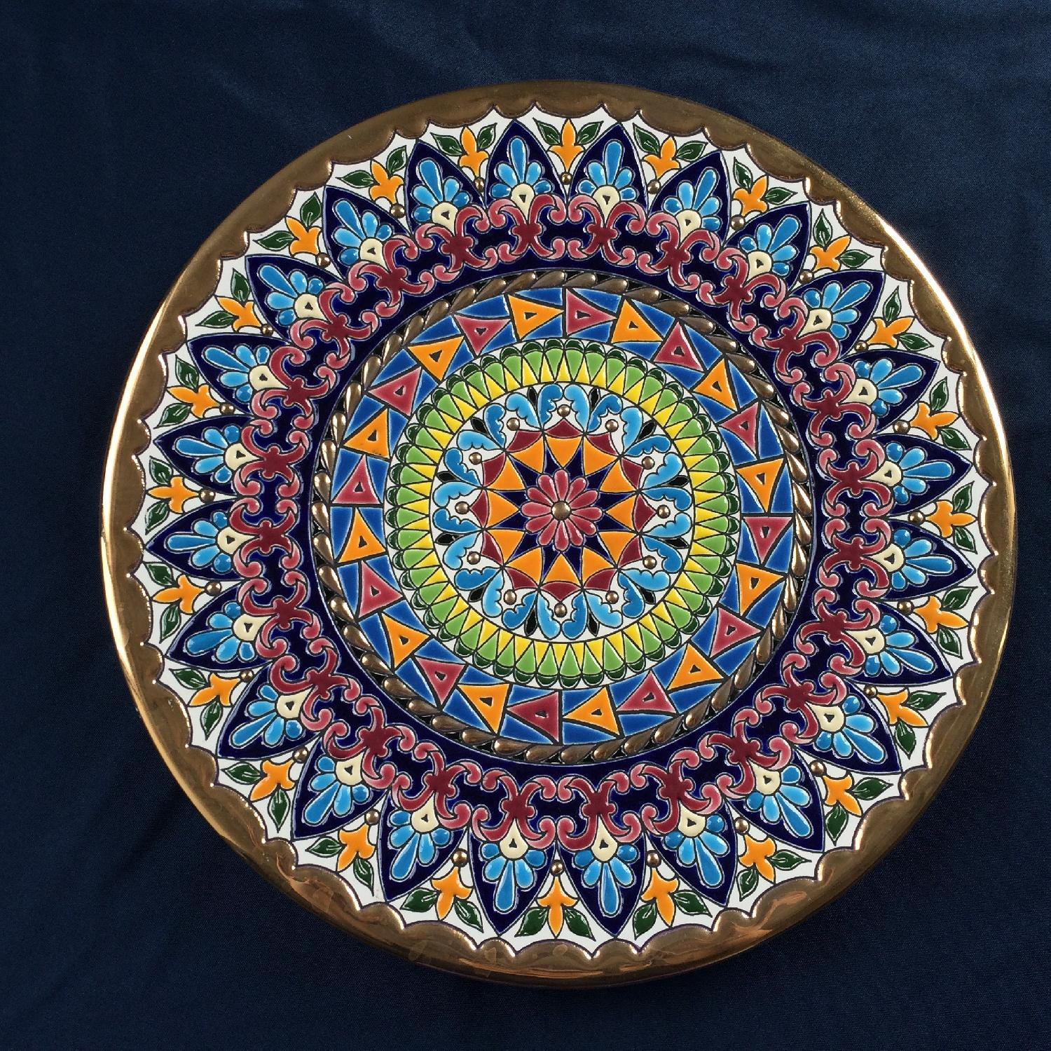 Artisanal Hand-Crafted Plate from Barcelona - image-1