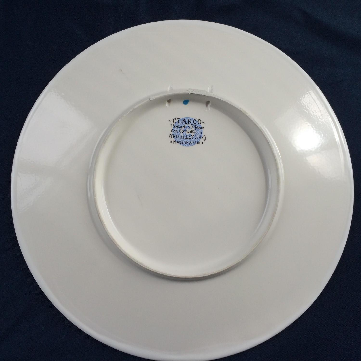 Artisanal Hand-Crafted Plate from Barcelona - image-2