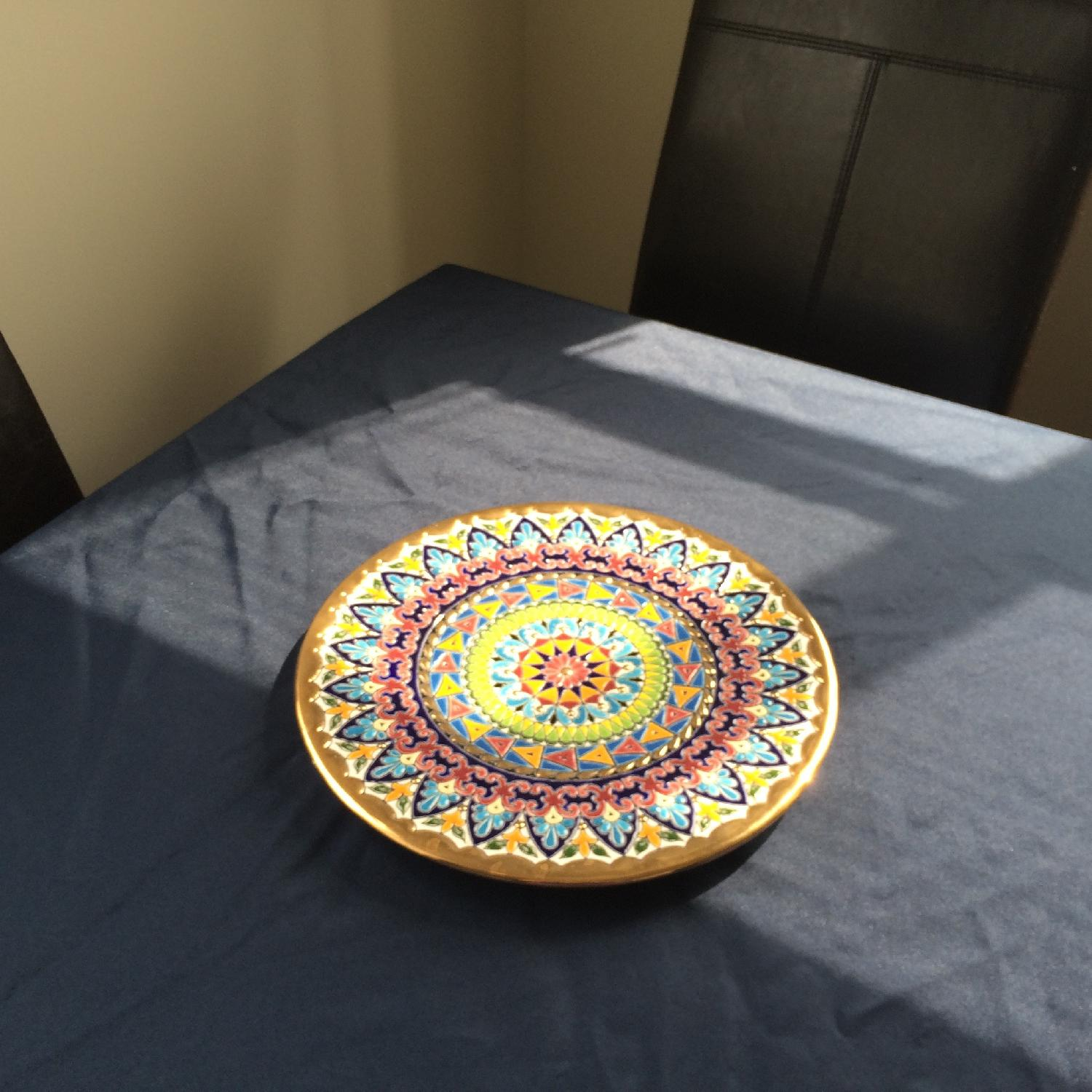 Artisanal Hand-Crafted Plate from Barcelona - image-3