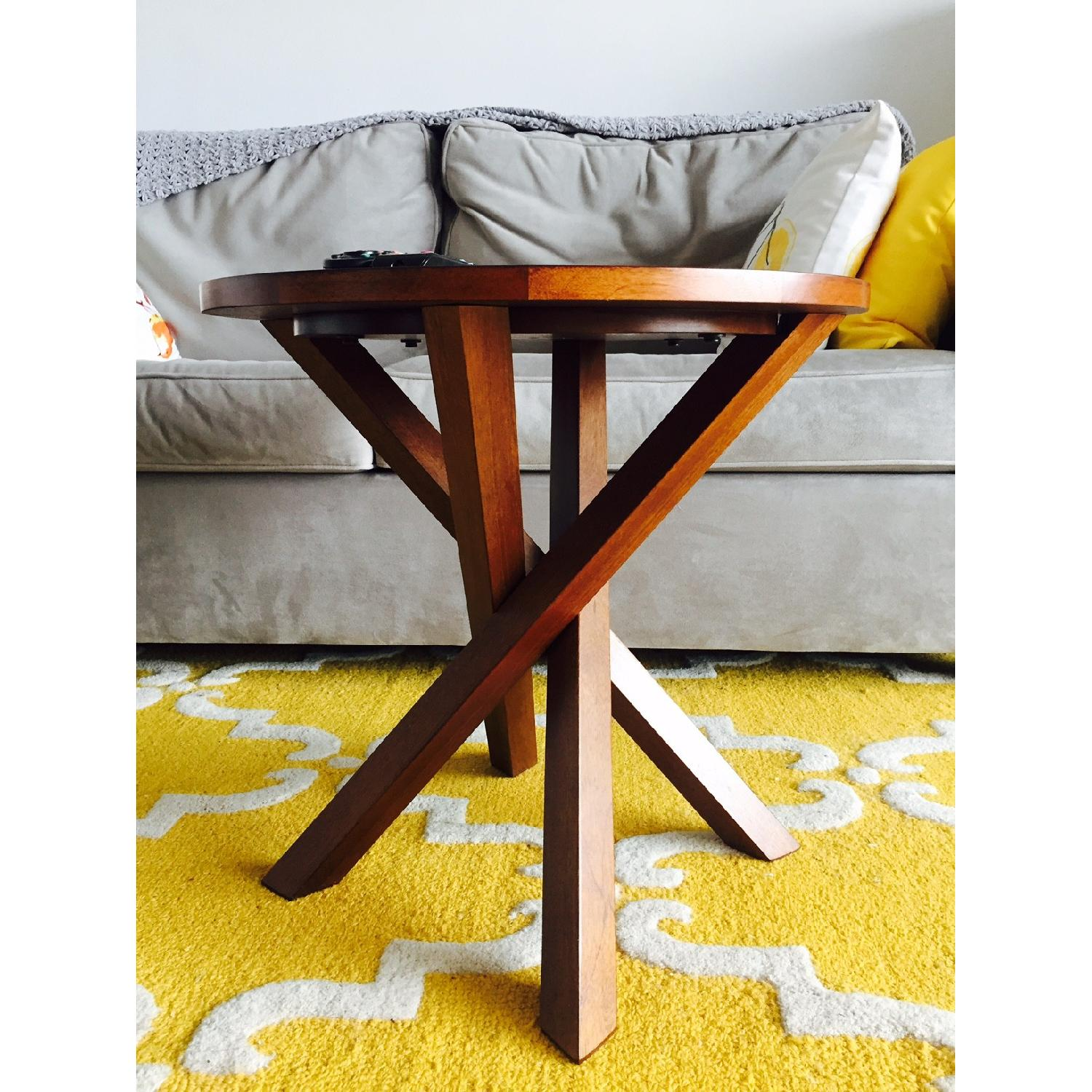 Crate & Barrel Coffee Table - image-1
