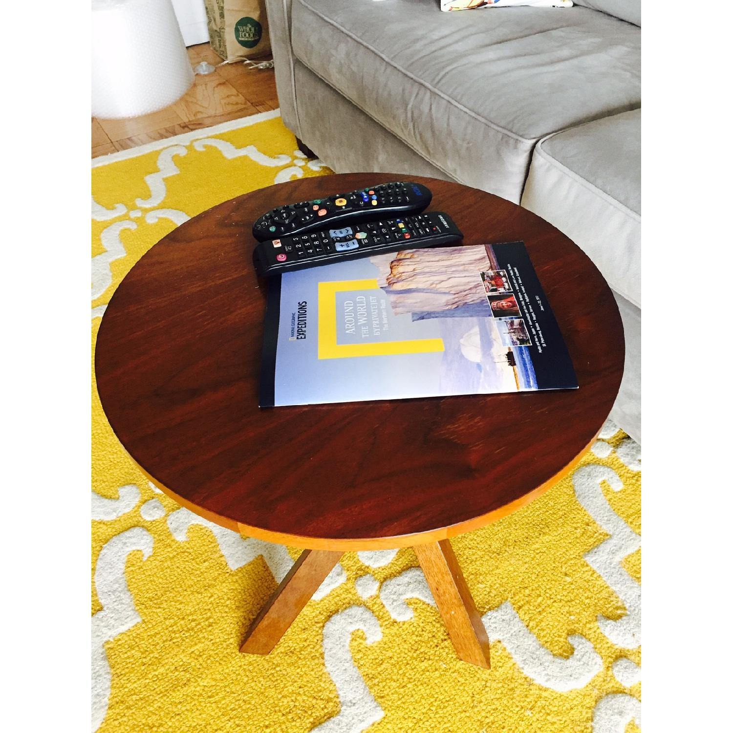 Crate & Barrel Coffee Table - image-2