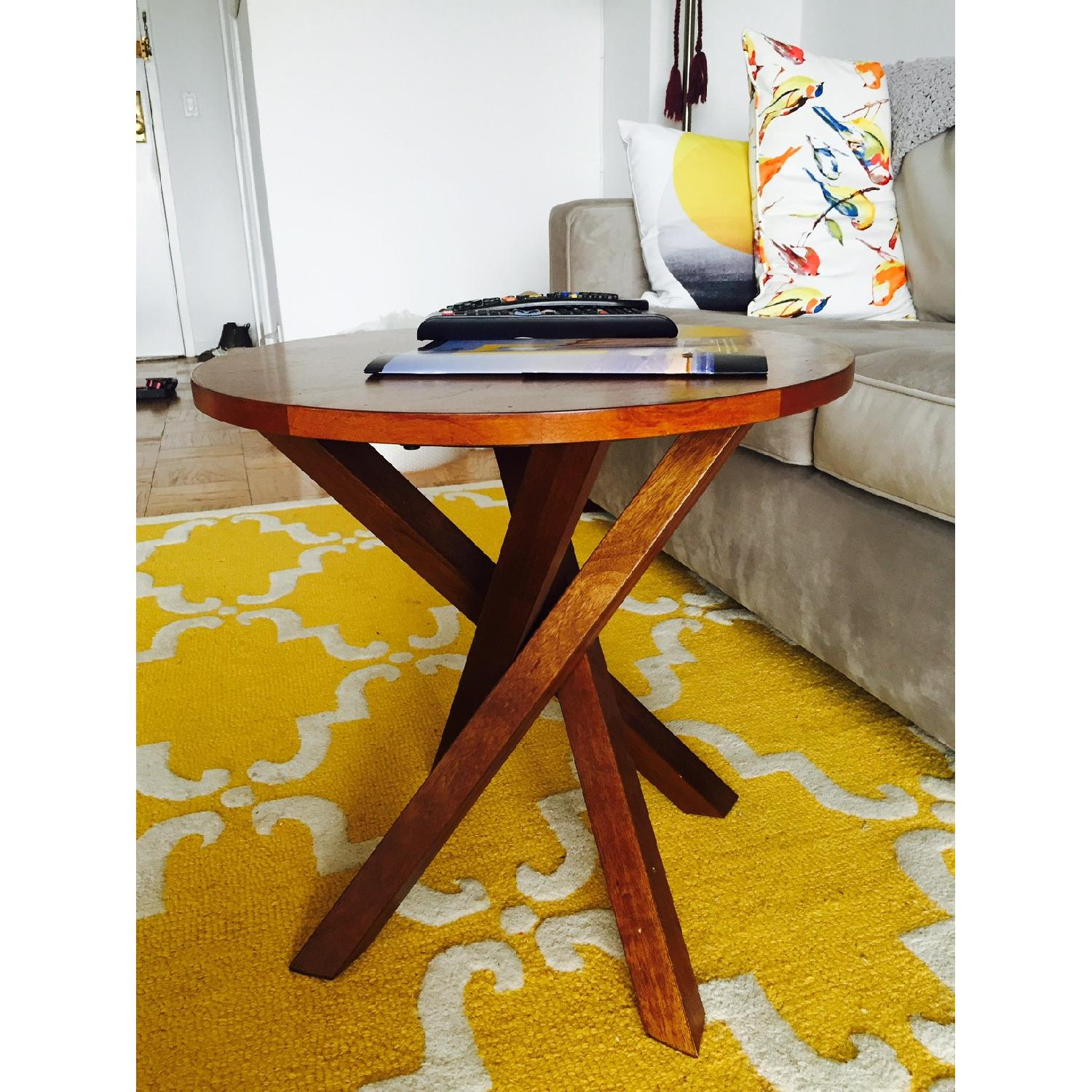 Crate & Barrel Coffee Table - image-3