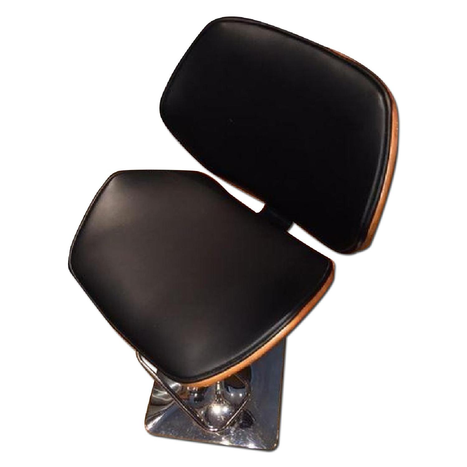 Adjustable Bar/Counter Height Stools - Pair - image-0