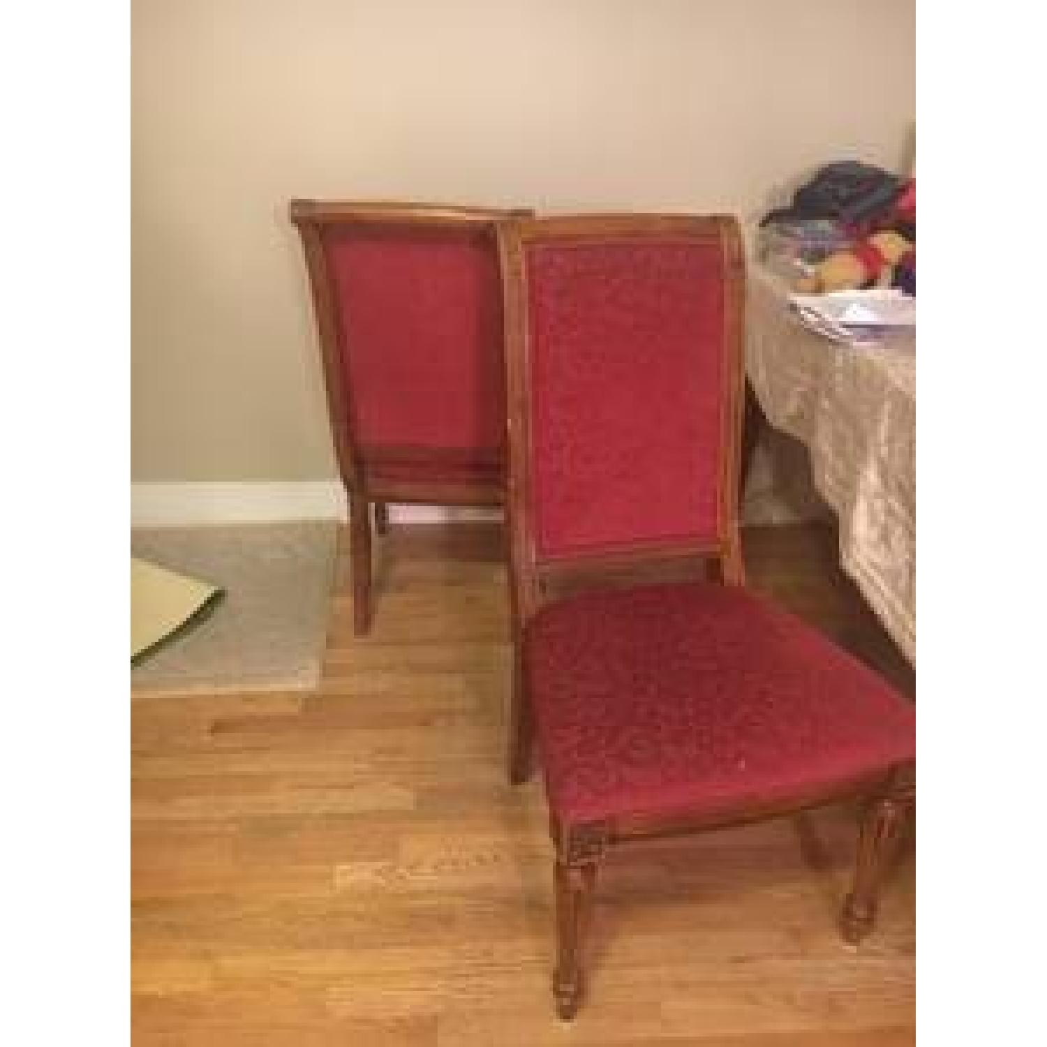 Ethan Allen Townhouse Dining Room Table w/ 6 Chairs - image-3