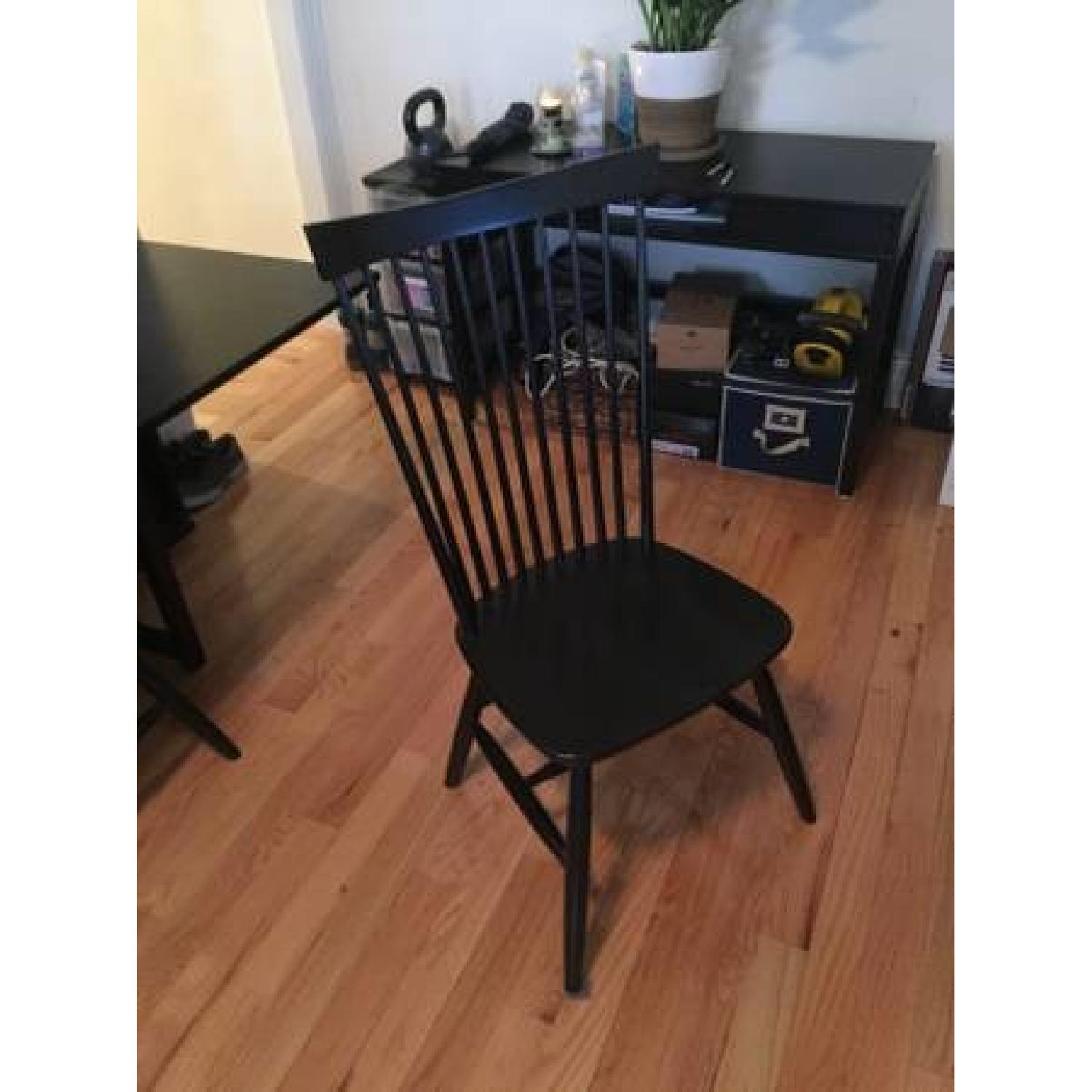 Crate & Barrel Marlow II Dining Chairs - image-1