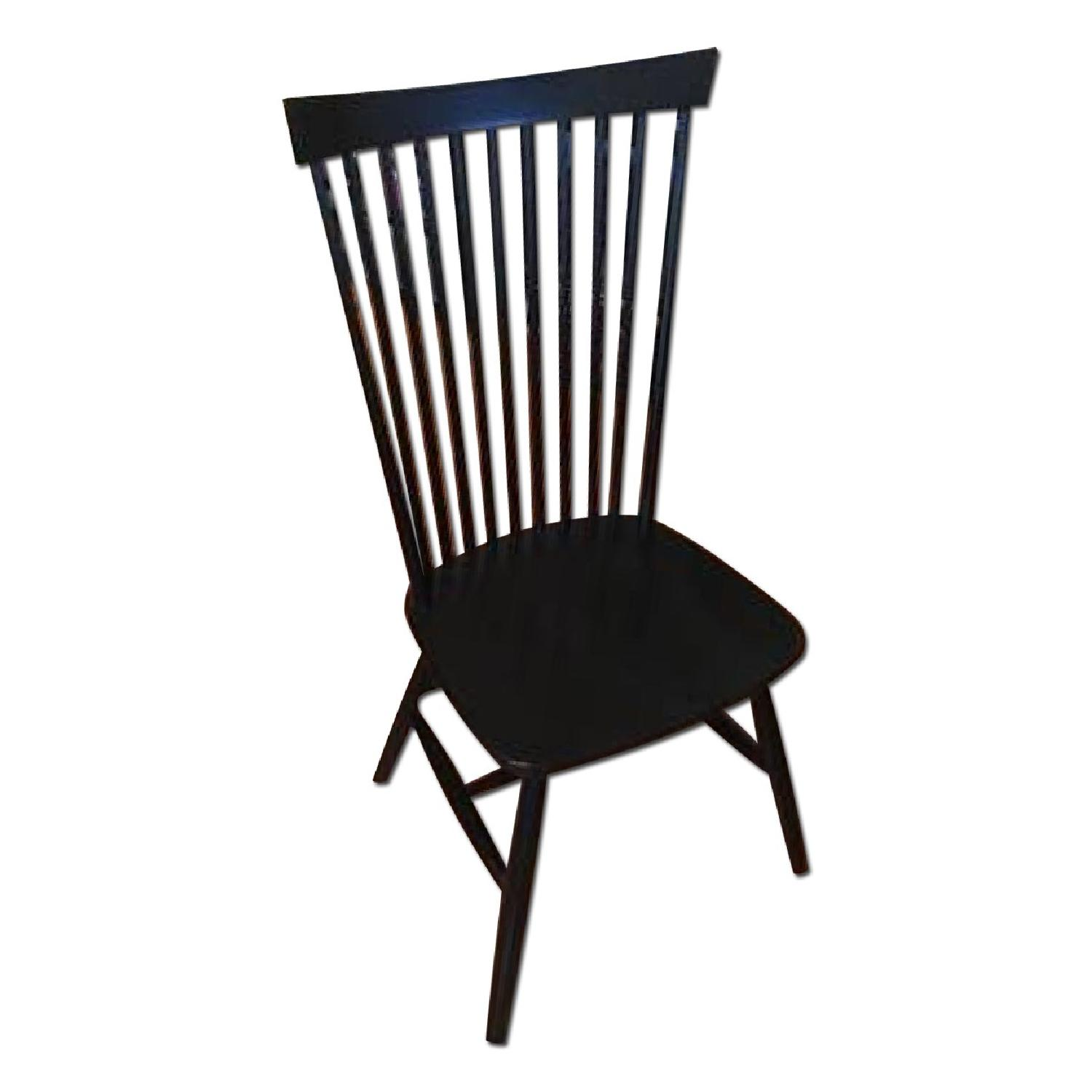 Crate & Barrel Marlow II Dining Chairs - image-0