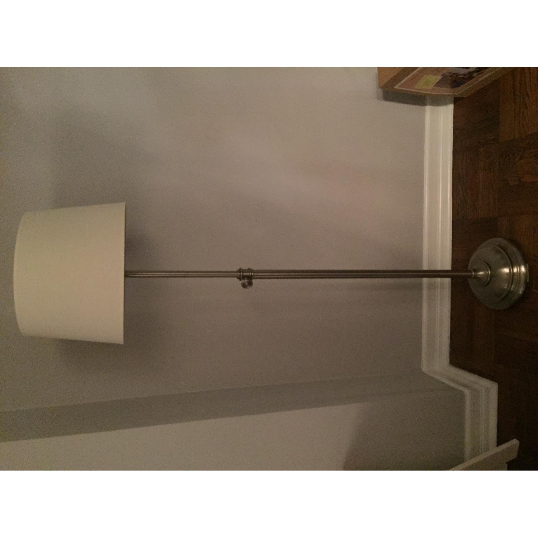 Pottery Barn Chelsea Floor Lamp w/ Linen Drum Shade - image-6
